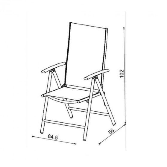 Matera kerti szék