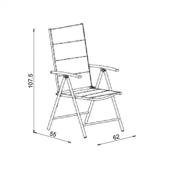 Leon kerti szék