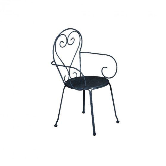 Moka fém kerti szék