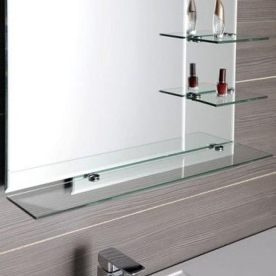 Aqualine tükör üvegpolccal - 65028