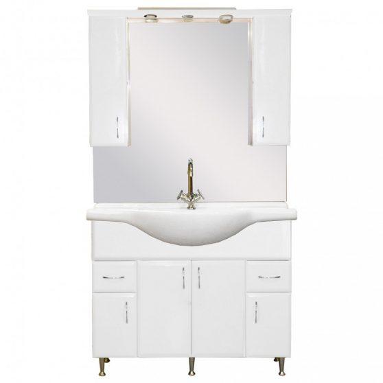 Bianca Plus 105 komplett fürdőszobabútor