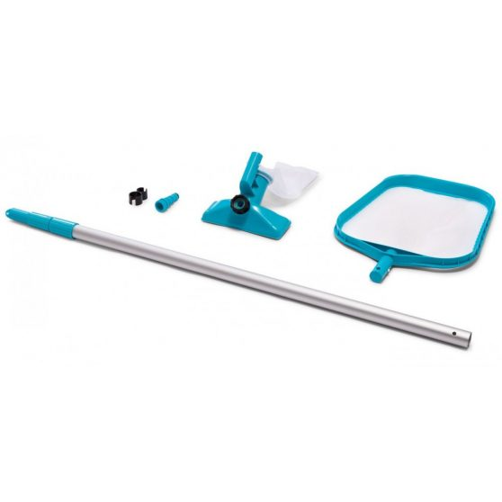 Venturi medence porszívó + fölöző háló + ALU nyél
