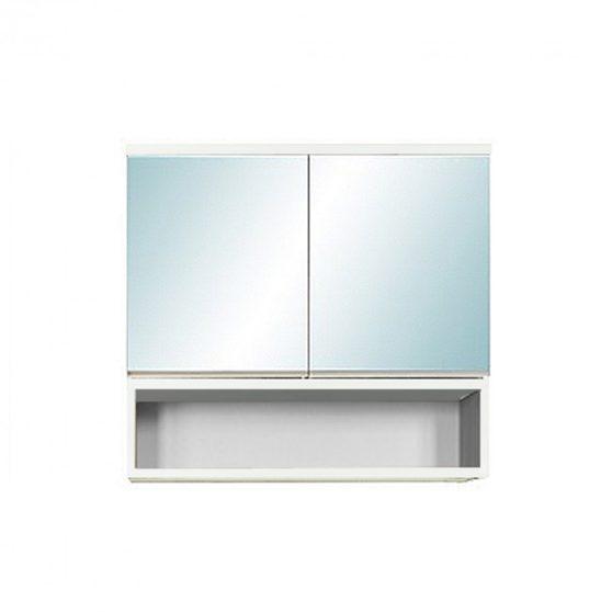 SOL 60 tükrös szekrény, Tükörfényes fehér