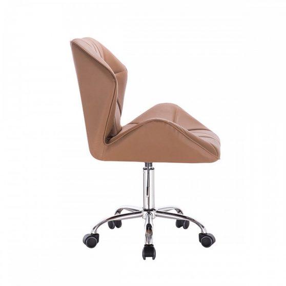Irodai szék, barna-camel, TWIST