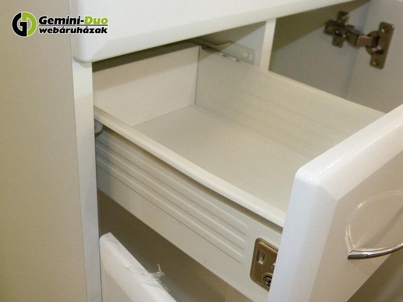 Bianca Plus fürdőszoba bútor fiók fém fióktesttel